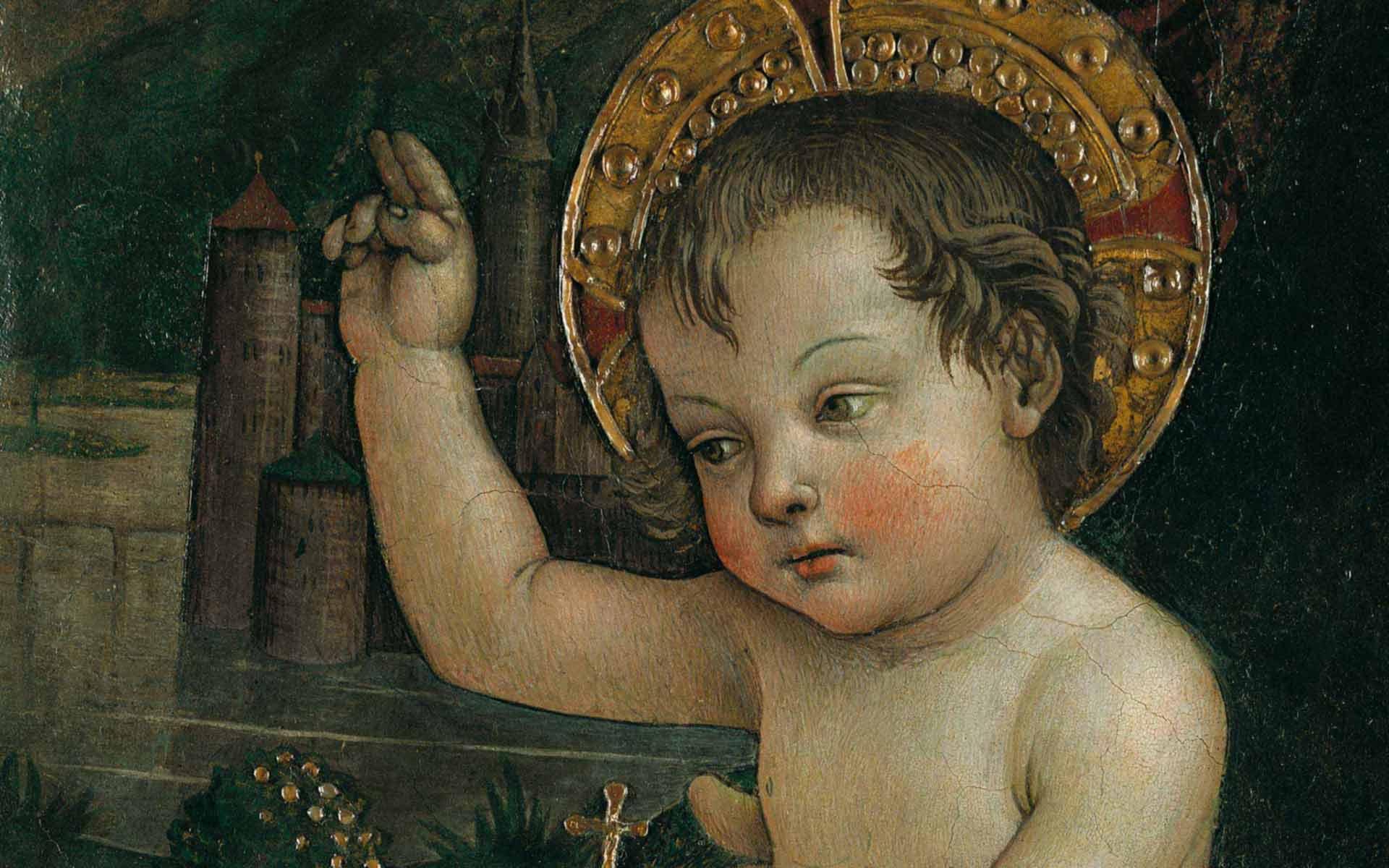 Bambin Gesù delle mani
