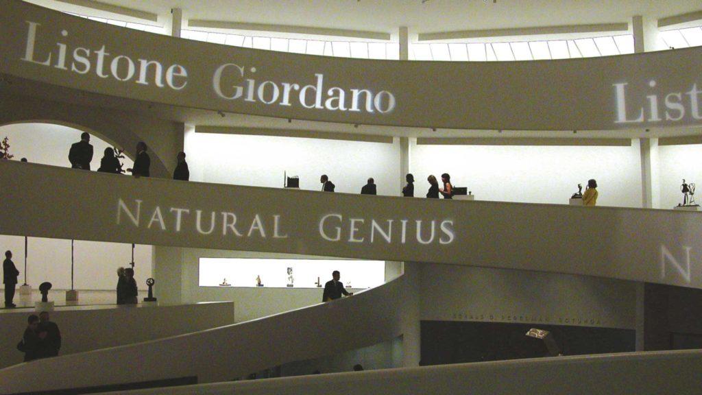 Guggenheim museum - listone giordano