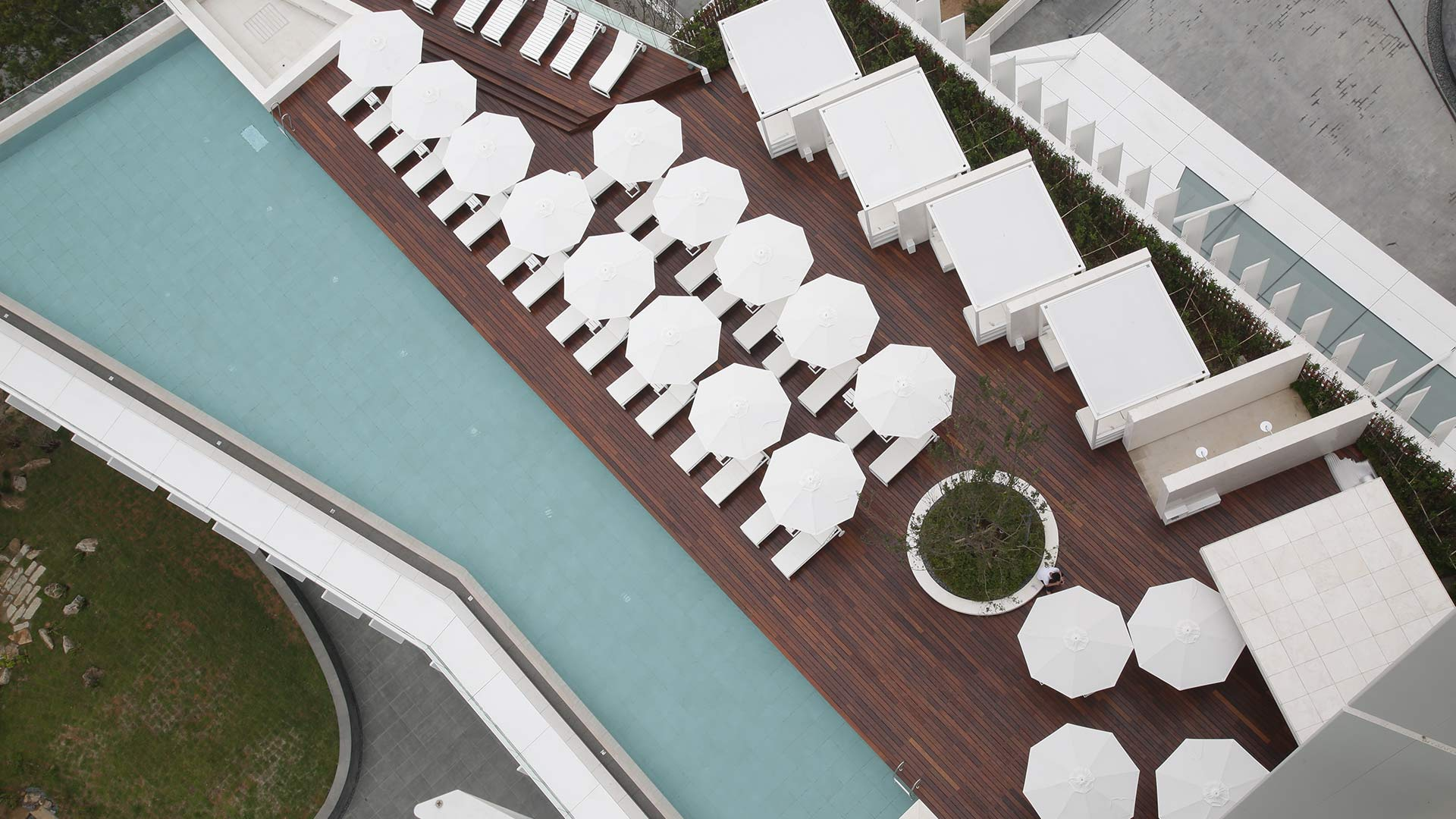 Seamarq Hotel -  Corea - Decking Ipé