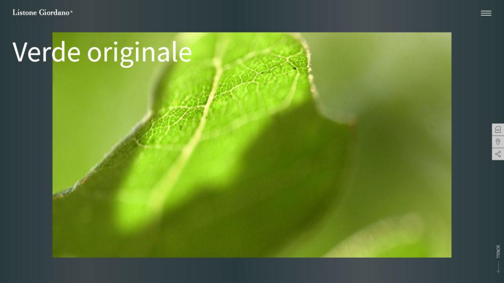 Web Listone Giordano Verde Originale