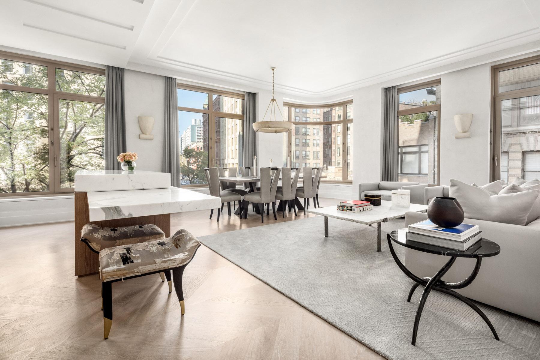 40 Bleecker Street New York - Eichenparkett Eiche parkett Lino Michelangelo
